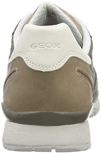 ABX B Sage U Zapatillas para Geox A Sandford Marrón Hombre 6qUnxxPOwE