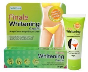 Finale Whitening Cream for Ampit, Inner Thigh, Elbow, Knee 30 G. Thailand ()
