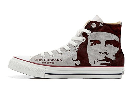 Converse All Star personalisierte Schuhe - HANDMADE SHOES - El Che