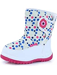 Fantiny Toddler Snow Boots for Boy Girl Winter Outdoor...