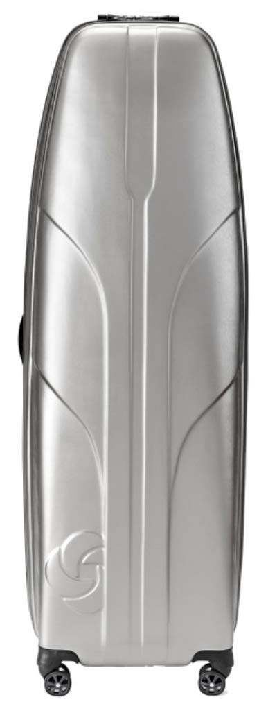Samsonite Primo Deluxe Hard Sided Golf Travel Cover, Silver, One Size