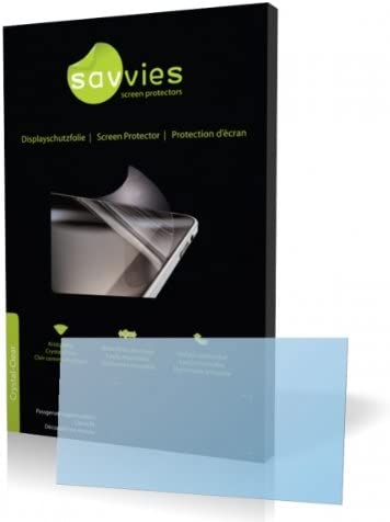 100/% fits Savvies Crystalclear Screen Protector for Toshiba Portege G910 Display Protection Film Protective Film