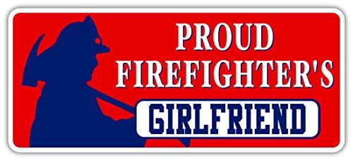Proud Firefighter's Girlfriend GF   School Graduation Gift
