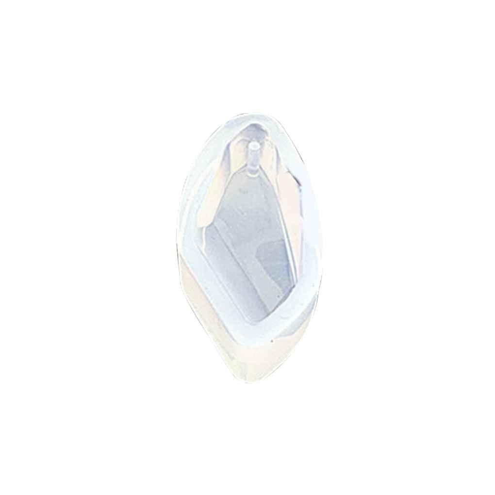 Lorjoy Silicone gioielli di cristallo geometrica muffa Pendant Ornamento Pietra Fai da te in resina stampata