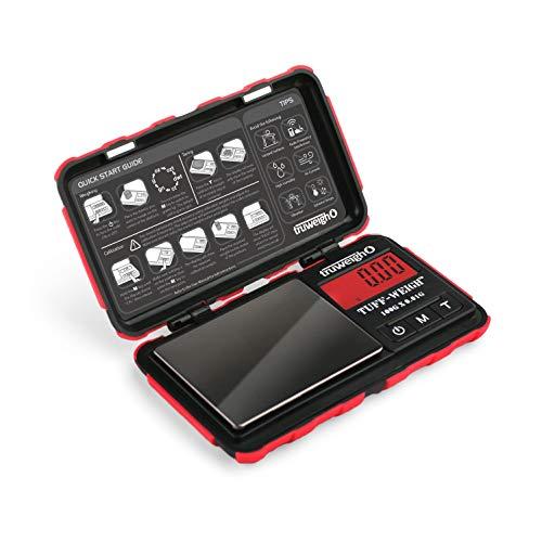 TUFF-WEIGH Digital Mini Scale 100g x 0.01g Black / Red ()