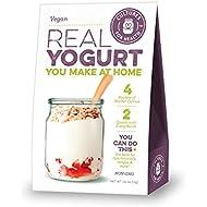 Vegan Yogurt - Starter Culture - Delicious, tangy homemade plant-based yogurt, no maintenance, non-GMO
