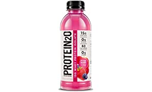 Protein2o Low-Calorie Protein Infused Water, 15g Whey Protein Isolate, Mixed Berry (16.9Ounce,Pack of 12)
