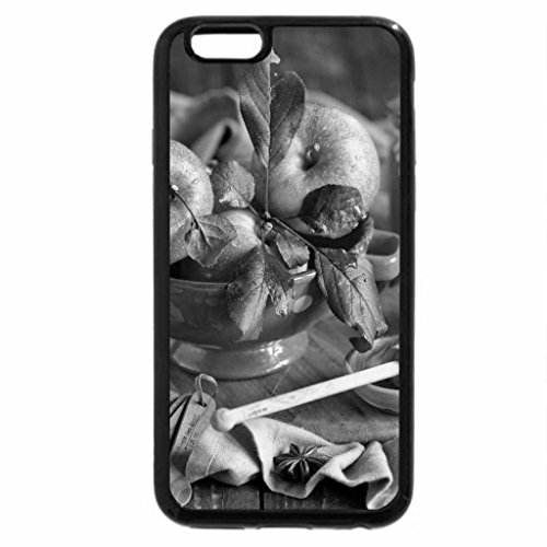 iPhone 6S Plus Case, iPhone 6 Plus Case (Black & White) - Apples