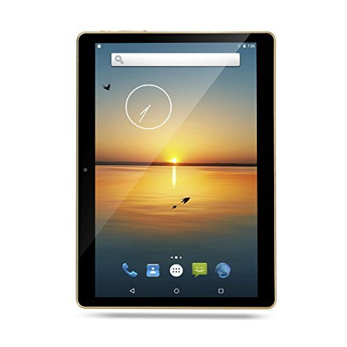 10 Inch Tablet Octa Core Android 7.0, 4GB RAM,64GB ROM,1280X800 IPS Screen,8.0MP,Dual Sim,Wifi,GPS,Tablet For Kids-Black