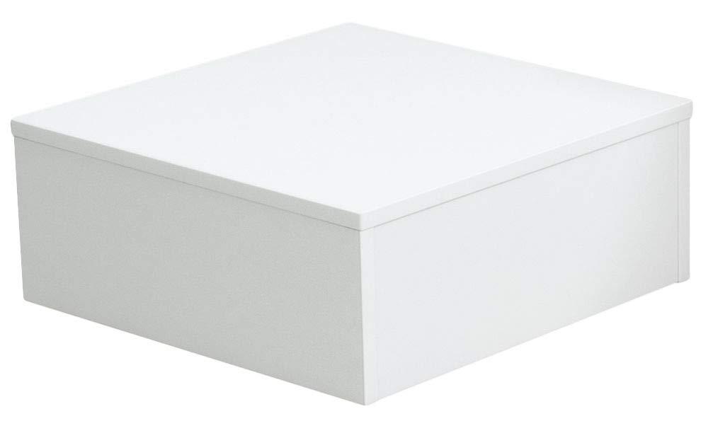Ladeneinrichtung Warenträger Sockel Podest weiß (L  50cm, H  30cm, T  50cm)
