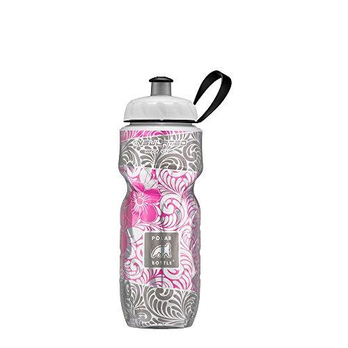 Polar Bottle Insulated Water Bottle - 20OZ Island Blossom, 20 oz