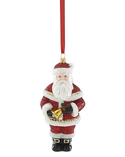 Reed & Barton 877689 Santa with Bell Ornament