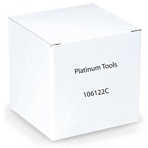Platinum Tools 106122C Rj-11 (6P4C), Round-Solid 3 Prong. 25/Clamshell.(Pack Of 25)
