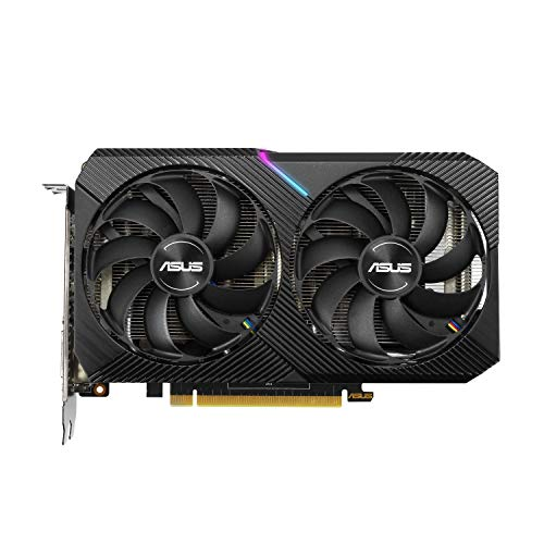 ASUS Dual NVIDIA GeForce RTX 2070 Mini OC Edition Gaming Graphics Card (PCIe 3.0, 8GB GDDR6 Memory, HDMI, DisplayPort, DVI-D, for Intel NUC 9 Extreme Kit and Small Chassis.