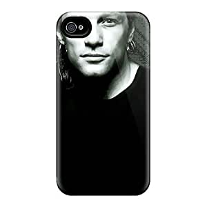 High Impact Dirt/shock Proof Case Cover For Iphone 4/4s (bon Jovi Band)