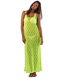 Ingear Mesh Maxi Dress