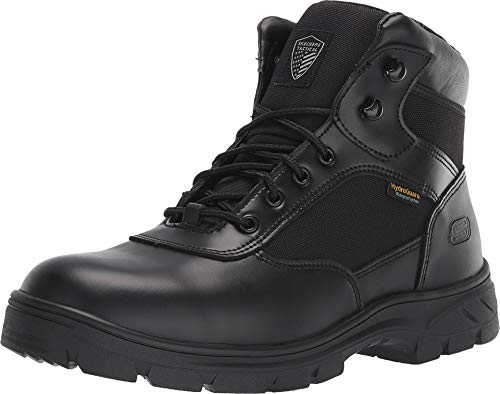 - Skechers Work Relaxed Fit Wascana Benen WP Tactical Mens Boot Black 13 W