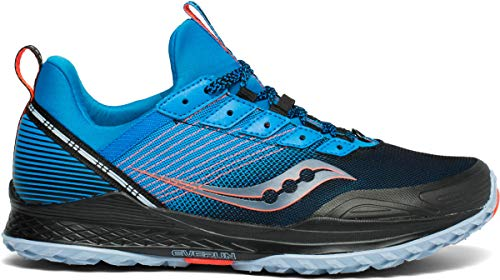 Saucony Men's MAD River TR Road Running Shoe, Blue/Navy, 10 M US (Best Shoes For River)