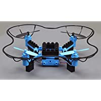 IMEX BrickFlyer RTF 2.4GHz Building Block STEM Quadcopter- Blue