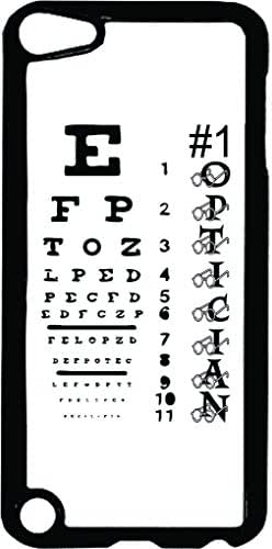 #1 Optician-Eyesight Chart-TM Apple iPod 5 Black Plastic Case Made in the USA