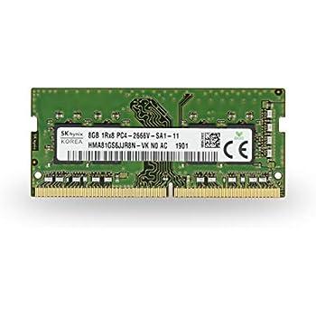 Dell Compatible 8GB DDR4-2666MHz 1Rx8 1.2v Non-ECC SODIMM SNPHYXPXC//8G