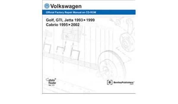 VA35 Volkswagen Golf GTI Jetta 1993-1999 Cabrio 1995-2002 ... on