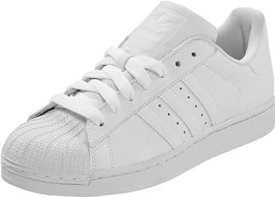 adidas Originals Men's Superstar ll Sneaker,White/White/White,7.5 D US