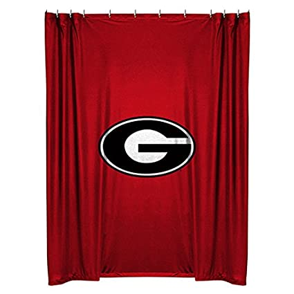 Delicieux Georgia Bulldogs Shower Curtain