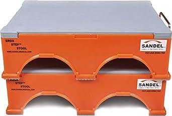 Amazon Com Ergo Step Stool Stackable Orange 2 Top