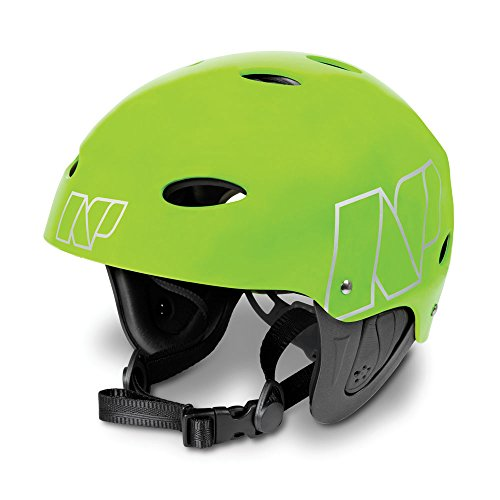 NP Surf Watersports Helmet, Flouro Green Matt