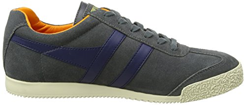 Navy Graphite Men's Orange Fashion Harrier Gola Sneaker pO4HX