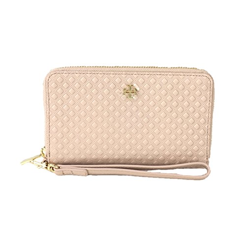 Tory Burch Marion Leather iPhone 8 / 7 Wristlet Wallet, Light Oak by Tory Burch