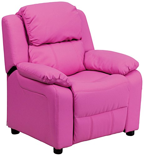 Pink Fabric Recliner - 5