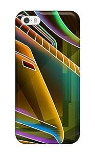 COxsxSz1147mNPSX Craigmmons 3d Cgi Abstract Cgi Durable Iphone 5/5s Tpu Flexible Soft Case