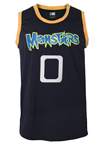(MOLPE Alien 0 Monstars Space Jam Jersey S-XXXL Dark Blue)