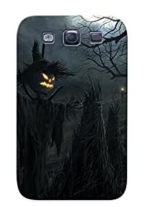 Fashion Tpu Case For Galaxy S3- Halloween Defender Case Cover For Lovers