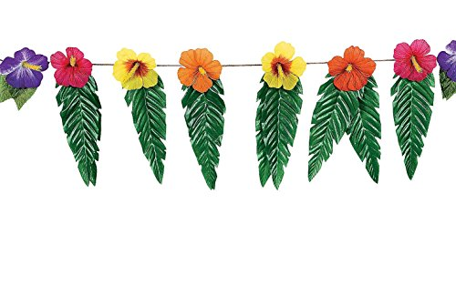 Hawaiian-Luau-Garland-With-Flowers-and-Green-Leaves-72
