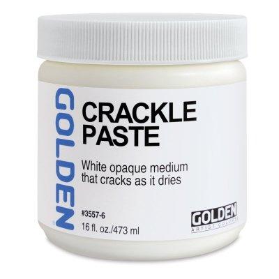 - Golden Acryl Med 128 Oz Crackle Paste