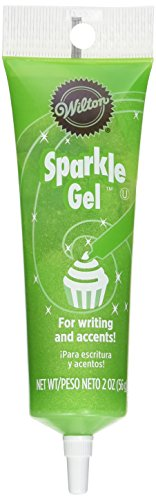 Wilton 704-9994X Light Green Sparkle Gel Icing Dispenser