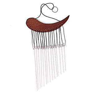 demiawaking sólida madera de viento, tubos de metal de viento para ventana hogar decoración, regalo