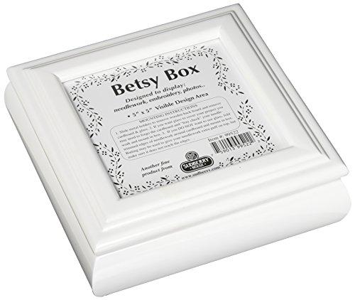 Sudberry House White Betsy Square Box, 8