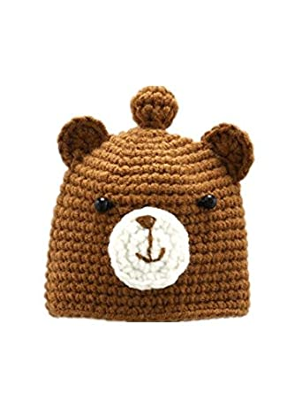 TBOP Baby Bag Key Hand-Knitted Knit Hand Hook Baby Cartoon Small Bag Key  Brown Bear  Amazon.in  Clothing   Accessories fa5afcb96ccf