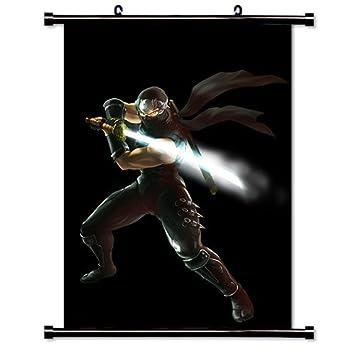 Laohujia Ninja Gaiden Videogame Fabric Wall Scroll Poster ...