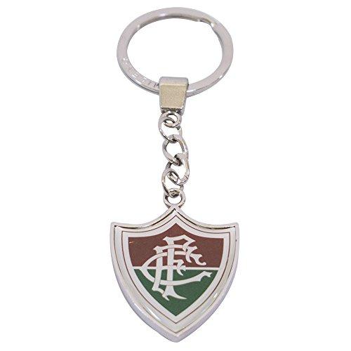 Chaveiro De Metal Com Brasão De Time - Fluminense