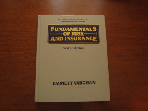 Download Fundamentals of Risk and Insurance Pdf