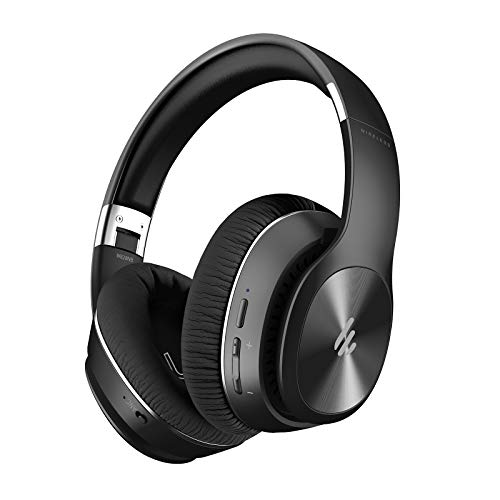 Edifier W828NB Wireless Bluetooth Headphones – Ergonomic, Active Noise Canceling ANC – Black
