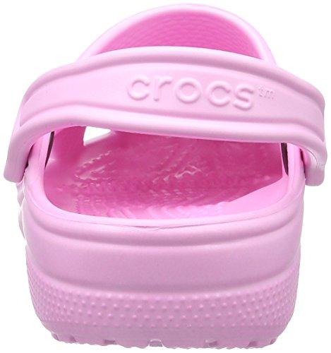 Crocs Classic, Mixte Adulte Sabots, Rose (Carnation), 42-43 EU