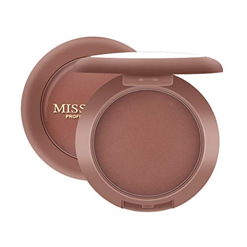 HYIRI Shimmery or Matte Finish MISS ROSE Colors Blush Red Smooth Dull Blush Naturally Brighten Complexion Rouge