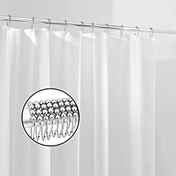 Coxeer Waterproof/Water-Repellent Shower Curtain
