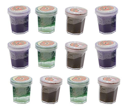 12 Witch's Potion - Mini Slime Containers for